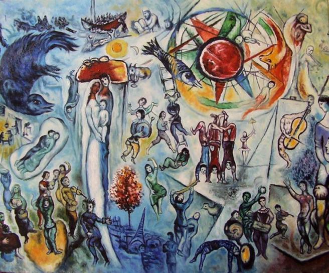 chagall-la-vie 1964
