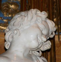 640px-Santa_Maria_della_Vittoria_-_7 il volto dell'angelo